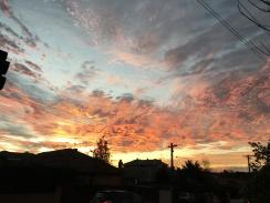 melb sunset