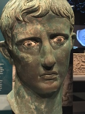 Bust of Augustus at the 100 Objects of History at the Australian Museum