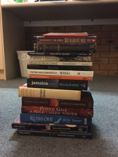 Books haul (my stack)