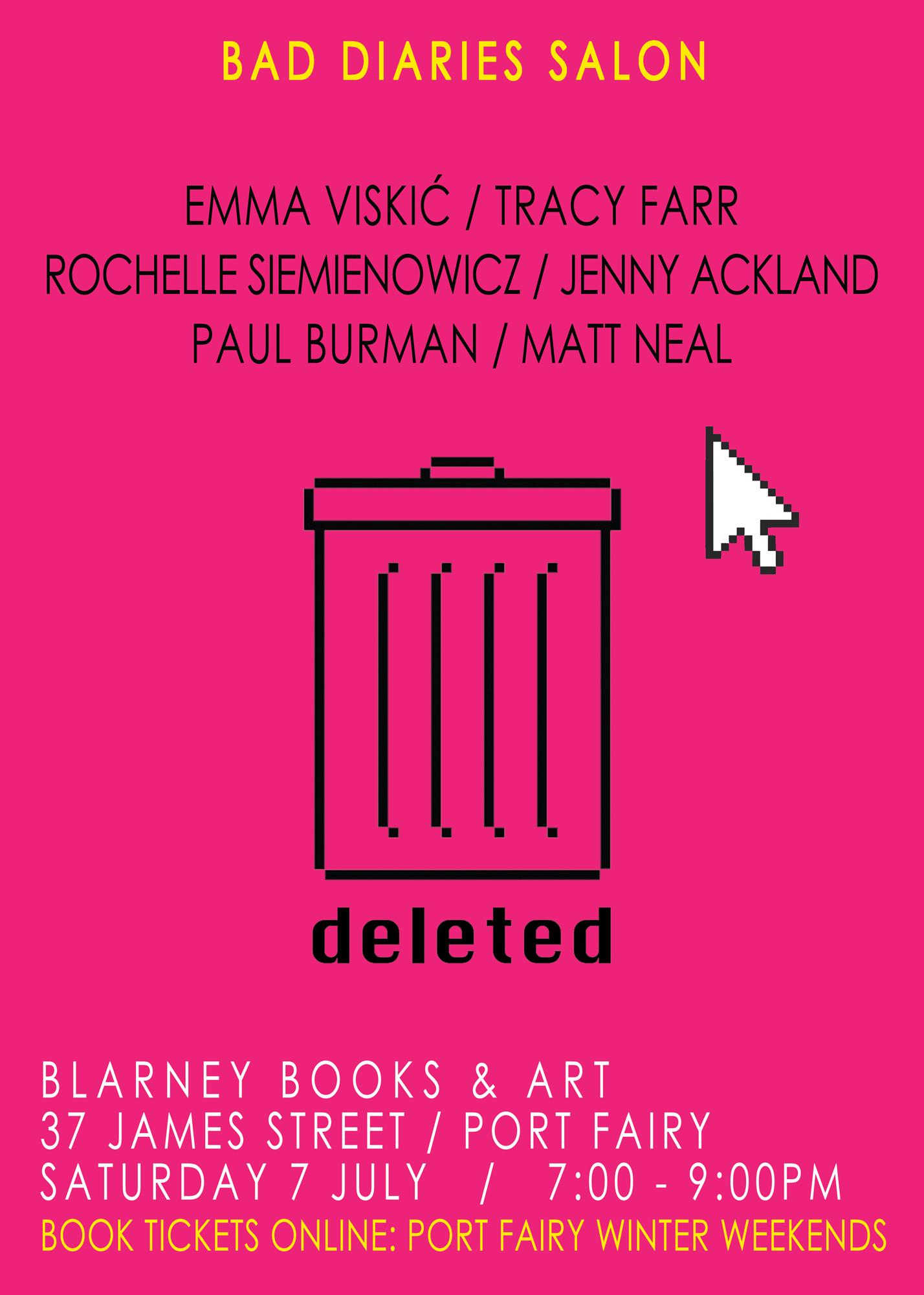 The Bad Diaries Salon – SERAGLIO